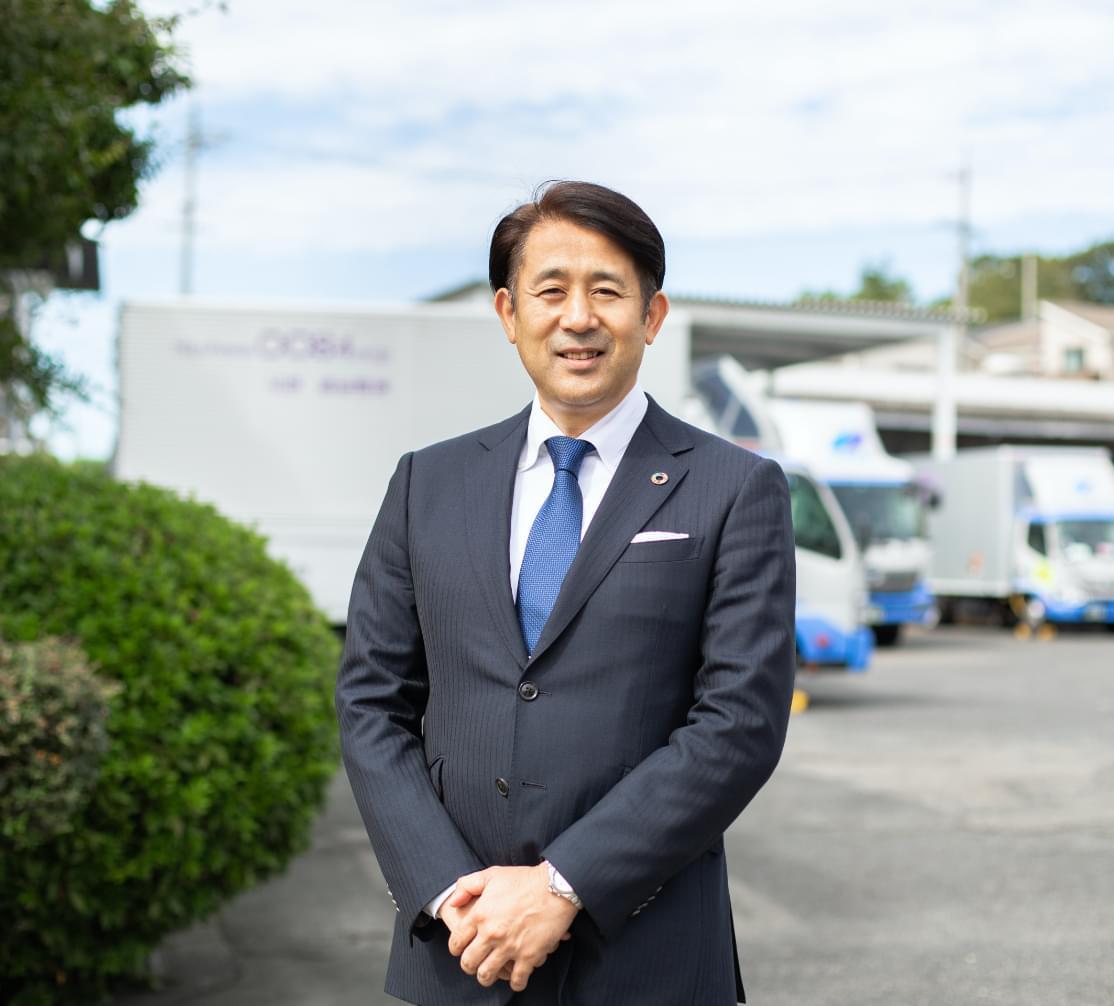 代表取締役社長 鍋嶋洋行