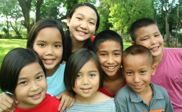 東南アジアの子どもたちへ