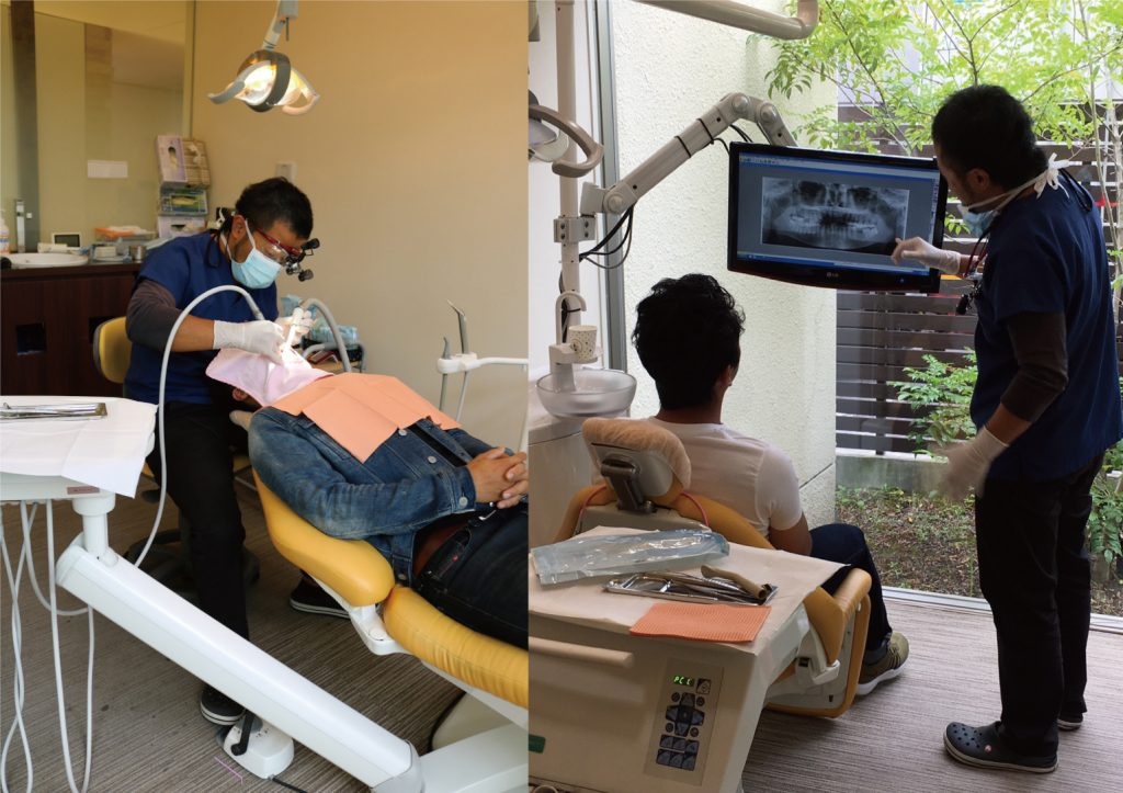 日曜歯科検診を行いました